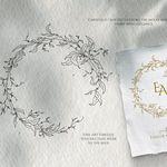 """2 x /""""Handmade with Love/"""" en coton brodé personnalisé étiquettes Sew Sur Tag 2.4 cm"""