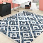 Bazaar Anissa Cream Slate 8 Ft X 10 Ft Area Rug 9456ces80hd 071 The Home Depot In 2020 Brown Area Rugs Rugs Area Rugs