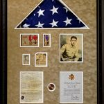 Marine Shadow Boxes Wrapped Ready For Pick Up Picworthcf Has Done It Again Military Shadow Box Shadow Boxes Framed Jersey