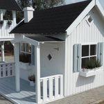 Drewniany Domek Dla Dzieci Helenka Ogrodosfera Pl Wooden Playhouse Wendy House Play Houses