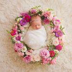 Princess-Dreams blumenband Baby Baptême Bandeau Fleur Photographie Shooting Props