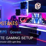 Image Result For Gaming Setup Leds Room Lights Neon Lights Bedroom Led Strip Lights Bedroom