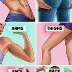 خفسة الارداف شرح تمارن العضله النائمه في البيت ونظام غذائي 1500 سعر حراري Slim Legs Workout Full Body Workout Program Workout Plan
