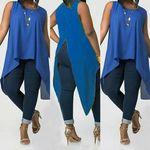 ACVIP Girls Denim Abrased Brim Pockets Buttons Decorated Elastic Skirt