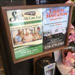 Sanitary Wipe Self Promotion Advertising In Store Amenities