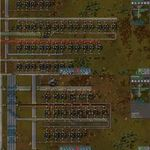 Factorio Solar Panel Layout 2020