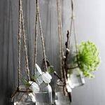 10Pcs Tibetan Silver Flower cone cord end T12604