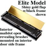Draft Dodger Elite Insulated Mail Slot 10 Color Combinations In Letter Magazine Sizes Mail Slots Insulated Slot