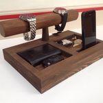 Creative Deco Gran Caja De Madera Recuerdo de almacenamiento de madera natural liso30 X 20