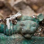 Chaudron En Bronze Sangeorgiu La Foret Mures L Age Du Fer Hallstatt B Roumanie