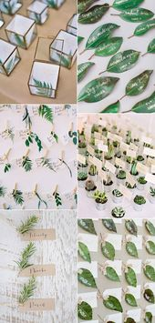 2017 Wedding Trends-30 Botanical Ideas to Decorate Your Big Day – Oh Best Day Ever