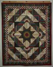 Lone Star Log Cabin Quilt Pattern 78 best images a…