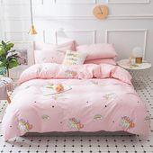 Kawaii Unicorn Bed sheet,Quiltcover,Pillowcover PN1005