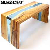 GlassCast® Resin River Table