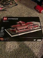 LEGO Architecture Robie House (21010) – 100% der Teile mit Box und Handbuch- # 210 …   – Places to Visit