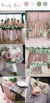 Die 10 wichtigsten Farbtrends für Hochzeiten, die wir in den Jahren 2019 und 2020 erwarten (Teil 1)