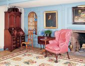 Innenraum des Warham Williams Hauses.   – Historic Home Interiors