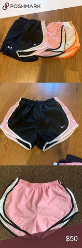 Running Shorts Bundle Alle 4 sind Größe SMALL alle in gutem Zustand Nike & Under A …   – My Posh Picks