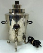 Vintage Hawthorn stainless steele  aluminum 12-25 cup coffee pot vintage small kitchen appliance percolator  coffee maker
