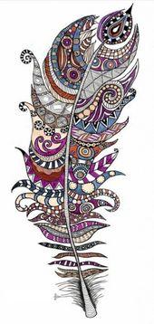 40 Mandala Vorlagen – Mandala zum Ausdrucken und Ausmalen – Zentangle