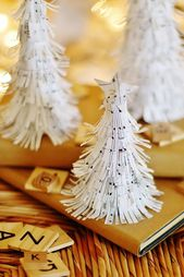 #CFT514 PDF DurhamDeals Christmas Tree Craft Miniature Christmas Trees Tabletop Christmas Trees 9 Different Designs Included