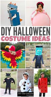 Making costumes this year? Here are some of our favorite DIY Kids Halloween Costumes so cute you'll want to