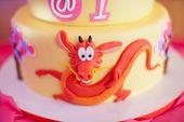 Tortenaufleger Geburtstag Party Tortenbild Fondant Oblate Mulan  P5
