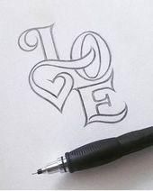 25 +> Wenn ich weitere Zeichnungen posten soll, mache ich das. Ich mochte … #diytattooimages – diy best tattoo ideas