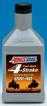 Amsoil Formula 4 Stroke Power Sports Synthetic Motor Oil Is