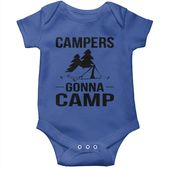 CAMPERS GONNA CAMP6 CAMPING SHIRT