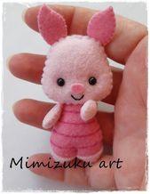 Winnie the pooh mobile, Babybett mobile, Babyzimmerdekoration, Filz Mobile, Ferkel Inspiration und Winnie de Pooh, Tigger, Ferkel, Eegore, Mimizuku Art   – Swewing, Tinker,…