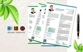 Illustrator Resume Justin Hugo- Professional Engineering CV Resume Template