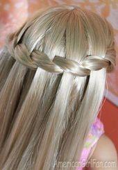 coole einfache und süße geflochtene Frisuren für Mädchen jeden Morgen vor der Schule – St …   – Emma