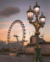 Wenn Sie in London sind, müssen Sie das London Eye besuchen, um eine atemberaubende Aussicht zu genießen. Buchen auf