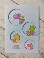 Baby Cards crafty lil mouse: magical dragons...