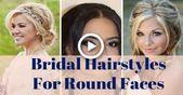 Brautfrisuren für runde Gesichter 100 Frisurenideen für runde Gesichter