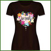 Oktoberfest Ladies – Herzmadl – S – Braun – L191 – Ladies & # 39; T-Shirt Rundha … – wiesen