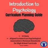 Introduction to Psychology Curriculum Planning Information