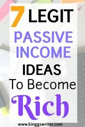Click to know these legit passive income ideas to …