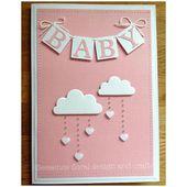 Baby Cards Baby-Dusche-Karte für Mütter oder Mädchen Bitte geben Sie bei der Bestellung ...