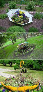20 Wirklich coole Ideen für DIY-Gartenbeete und Pflanzgefäße