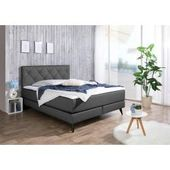 Lonni box spring bed including Led lighting, material imitation leather – 180 x 200 cm Möbel-Eins-Möbel-Ei   – Products