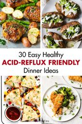 30 Simple Wholesome Acid Reflux-Pleasant Dinner Concepts