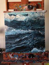 Wirf mich in die Tiefe und sieh zu, wie ich dem Besitzer, der das Meer malt, die Ehre erwirke
