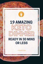 19 cenas ceto bajas en carbohidratos recetas de 30 minutos para perder peso y permanecer en cetosis …