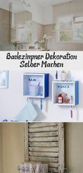 Badezimmer Dekoration Selber Machen House Decor Wand Deko Wand Deko Flur W Badezimmer Dek In 2021 Bathroom Decor Do It Yourself Bathrooms Picture Frame Decor