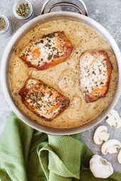 Browned Butter Pork Chops with Mushrooms Are a Weeknight Win