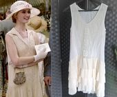 Flapper Dress Fringed Dress 1920s Dress 1920s Style Dress Embroidered Dress Gatsby Dress Peaky Blinders Dress Downton Abbey Dress