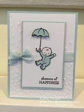 Baby Cards I was excited when I saw the theme challenge from the Paper Players because I'...