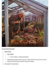 It takes a long time to do anything with J.R.R Tolkien.